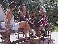 Cunnilingus, Czech, Lesbian, Outdoor