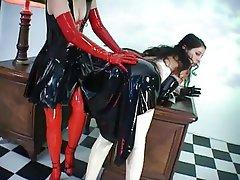 Cunnilingus, Latex, Lesbian