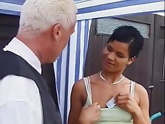 German, Kissing, Cunnilingus, MILF