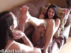 BDSM, Femdom, Foot Fetish, Interracial