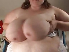 BBW, Masturbation, Big Boobs, Big Butts