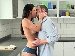Kissing, MILF, Blowjob, Blowjob